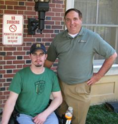 Tennesee Wounded Warrior with Enduring Pride Director