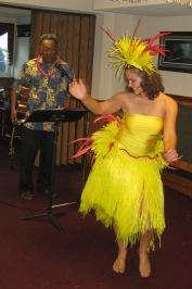 Luau Dancer Lady